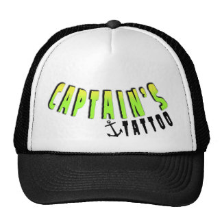 Hat de capitán gorros bordados