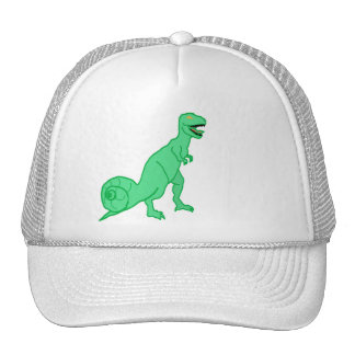 hat dinosaur and snail combination