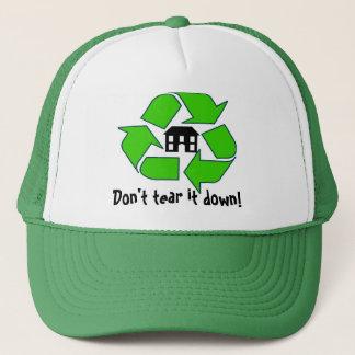 Hat - Don't tear it down!