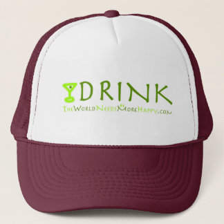 Hat Drink-green