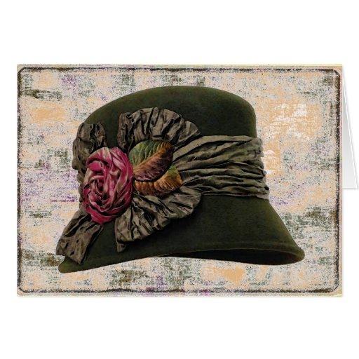 Hat Elegance ~ Card Card