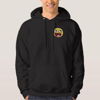 Hat face hoodie