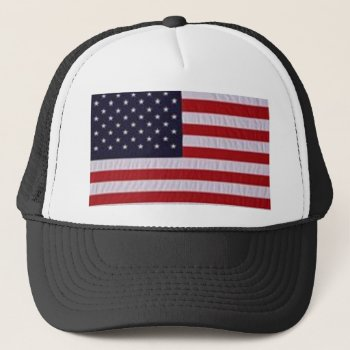 Hat   Flag    Red    White    Blue by creativeconceptss at Zazzle