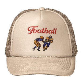 Hat Football  Customize by creativeconceptss at Zazzle