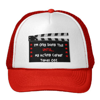 Hat for actor or actress