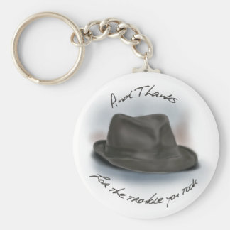 Hat for Leonard 1 Keychain