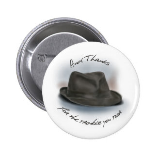 Hat for Leonard 1 Pinback Button