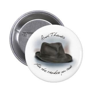 Hat for Leonard 1 Pinback Button