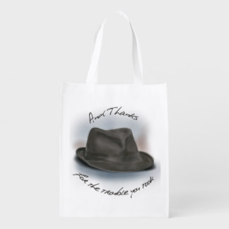 Hat for Leonard 1 Grocery Bag