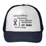 Hat for Pulmonary Fibrosis Disease Awareness