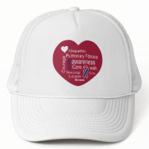 Hat for Pulmonary Fibrosis Disease Awareness