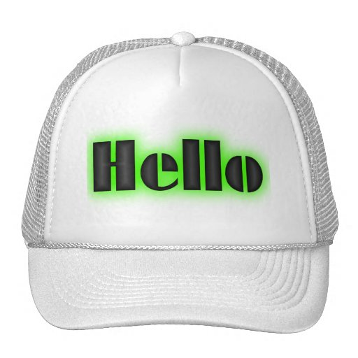 Hat for sale.