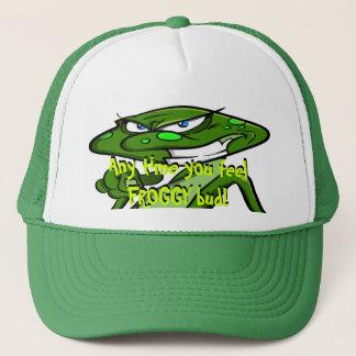 hat/froggy trucker hat