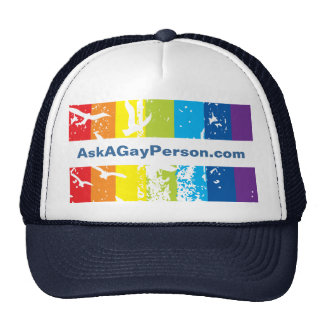 Hat- Gay Theme Template Hat