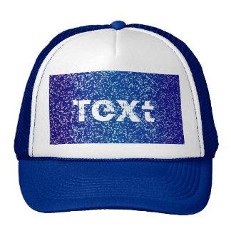 Hat Glitter Graphic Background