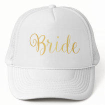 Hat - Golden Bride