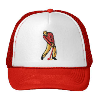 HAT GOLF RED CUSTOMIZE