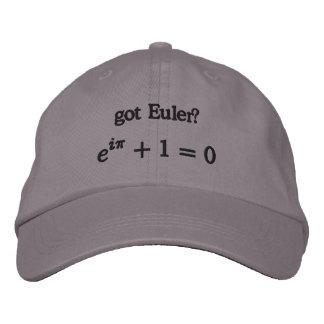 Hat: got Euler? Embroidered Hat