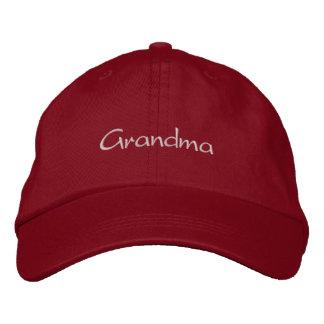 Hat - Grandma Embroidered Hat
