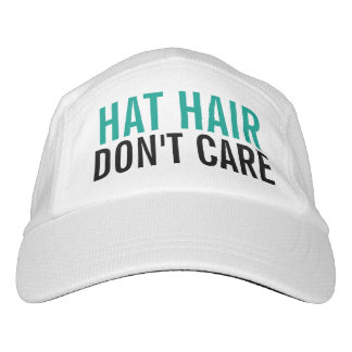 Hat Hair Don't Care Cute Funny Fashion Women's Headsweats Hat