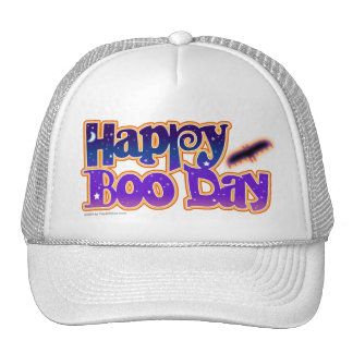 Hat - HAPPY BOO DAY - Halloween
