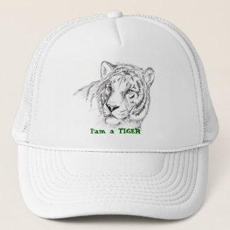 hat, I'am a TIGER Trucker Hat