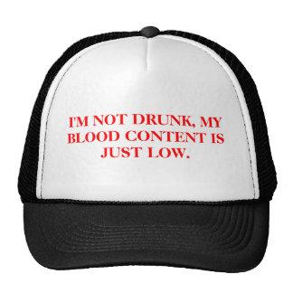 HAT-I'M NOT DRUNK