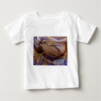 Hat Image In Bronze With Violet Lace Tshirt