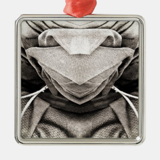 Hat Image in Shades of Grey Christmas Ornament