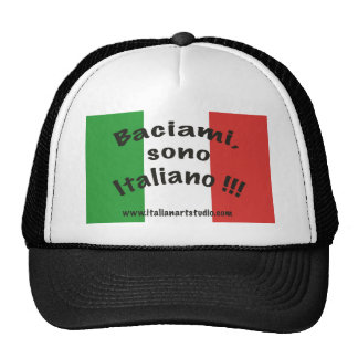 Hat  Kiss me, I am Italian