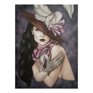 Hat Lady 2 Posters