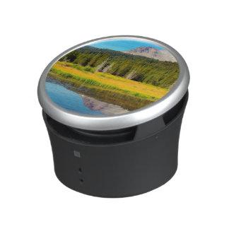 Hat Lake In Lassen Volcanic National Park Bluetooth Speaker