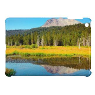 Hat Lake In Lassen Volcanic National Park iPad Mini Covers