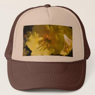 Hat: Macro Mullein Flower Trucker Hat