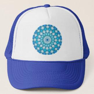 Hat mandala abstract lotus flower