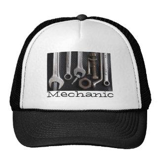 Hat: mechanics bench tool trucker hat