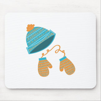 Hat & Mittens Mouse Pad