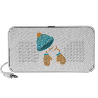 Hat & Mittens iPod Speakers