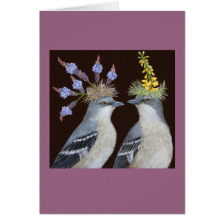 Hat Mockers Greeting Card
