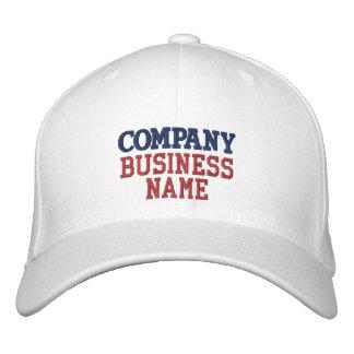 Hat Name Comercial bordado Company Gorra De Beisbol