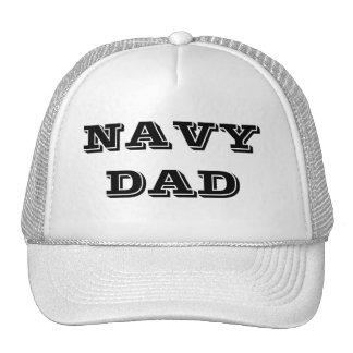 Hat Navy Dad