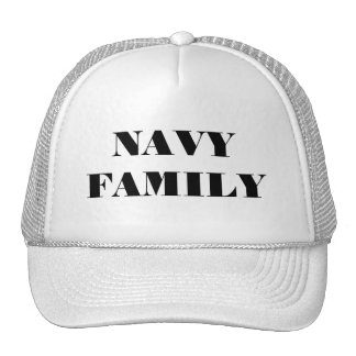 Hat Navy Family