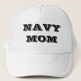 Hat Navy Mom