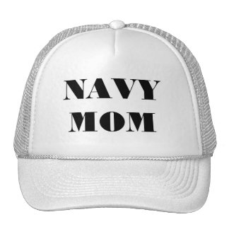Hat Navy Mom