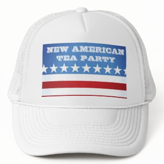 HAT-NEW AMERICAN TEA PARTY hat