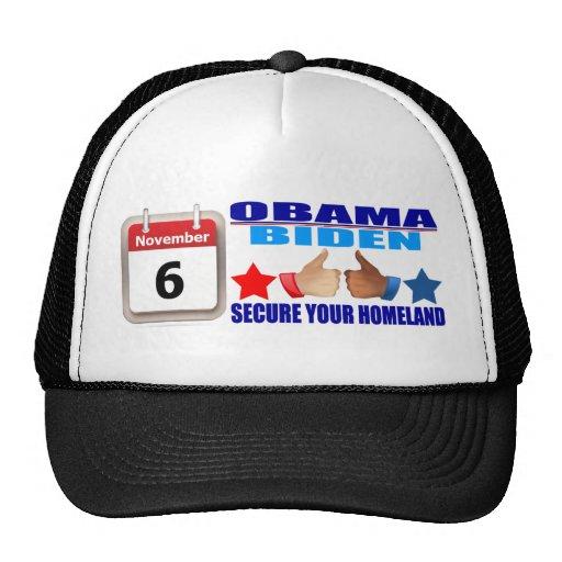 Hat: Obama/Biden - Calendar - Secure Your Homeland