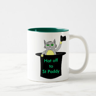 , Hat offtoSt Paddy Two-Tone Coffee Mug