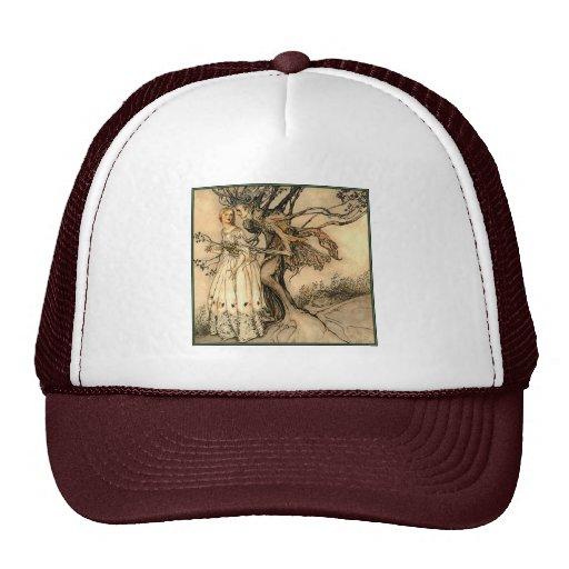 Hat: Old Woman in the Wood - Arthur Rackham Trucker Hat