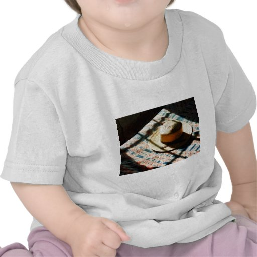 Hat on Bed Tee Shirt