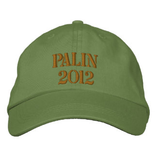 Hat, Palin 2012 Embroidered Baseball Caps